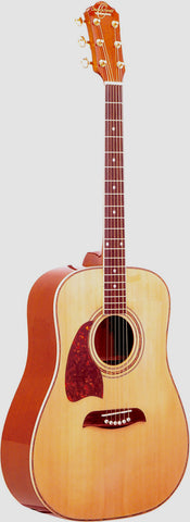 Oscar Schmidt OG2NLH Dreadnought Acoustic Guitar - LEFTY