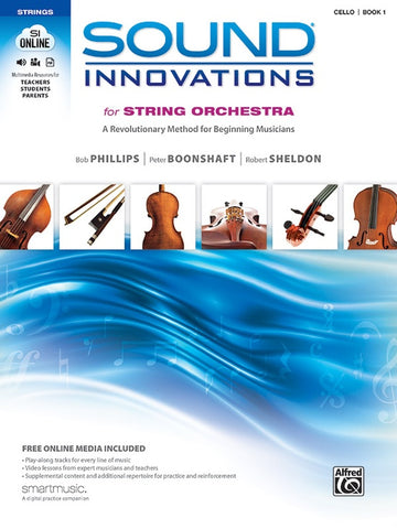 Sound Innovations for String Orchestra, Book 1, Cello Book & Online Media