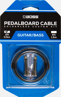 Boss BCK-2 Pedalboard Cable Kit 2 ft. Black