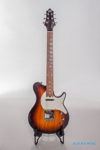 Gadow Nashville Electric Guitar in Tabacco Sunburst with hardshell case, Made in USA