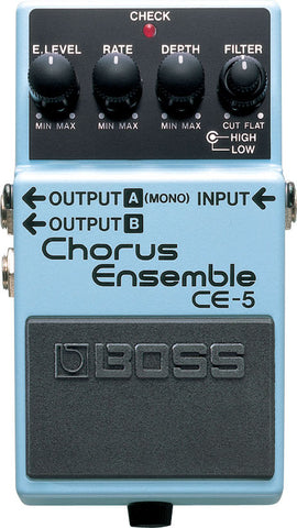 Boss CE-5 Stereo chorus Ensemble Effects Pedal