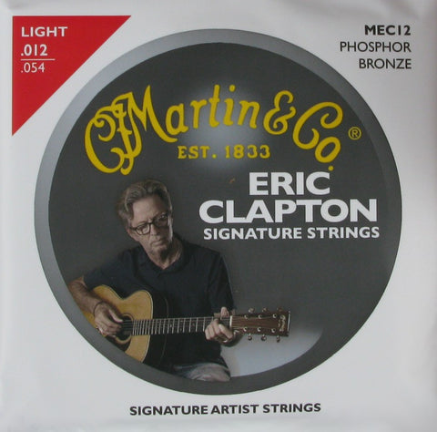 Martin Acoustic Guitar Clapton's Choice 92/8 Phosphor Bronze, .012 - .054, MEC12