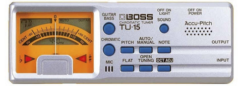 Boss TU-15 Chromatic Tuner w/Accu-Pitch