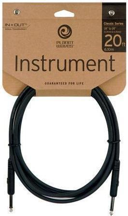 DAddario Planet Waves 20ft Classic Series Instrument Cable PW-CGT-20