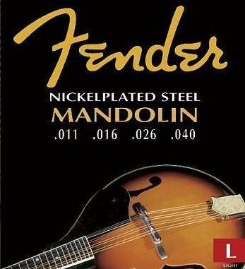 Fender Mandolin Phosphor Bronze, .011 - .040, 2060