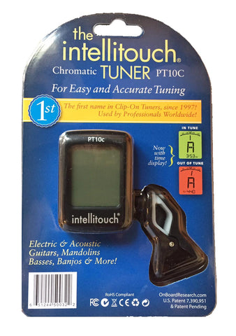 Intellitouch PT10c Chromatic Clip On Tuner