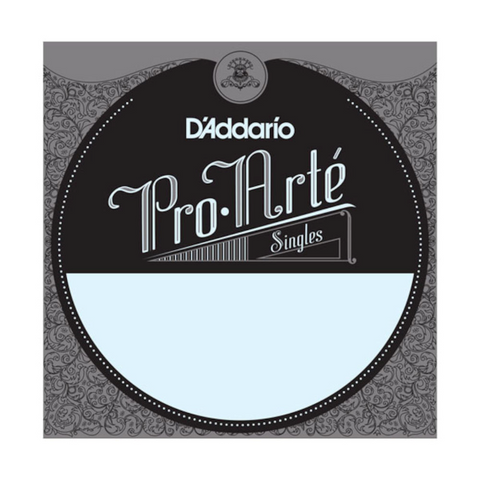D'Addario J4706 80/20 Bronze Pro-Arte Nylon Classical Guitar Single String, Normal Tension, Sixth String