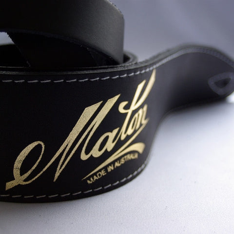 Maton Leather Guitar Strap