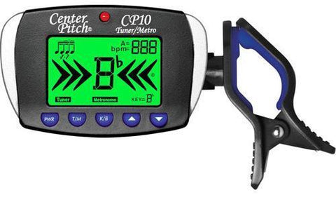 Centerpitch CP10 Clip On Tuner & Metronome - Black