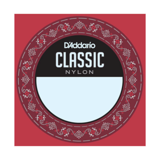 D'Addario J2706 Student Nylon Classical Guitar Single String, Normal Tension, Sixth String