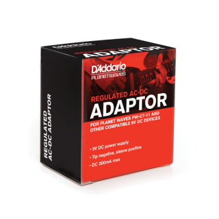 D'Addario 9-Volt Power Adaptor PW-CT-9V