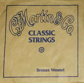 "Martin M35BW A-5th 80/20 Bronze Wound Plain End Classical single string. 035"" - 0.89mm"