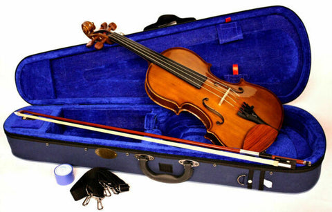 Stentor 1400 1/2 size Student Violin Outfit With Case & Bow Natural
