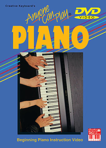 ANYONE CAN PLAY PIANO DVD