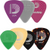 D'Addario Assorted Guitar Picks, 7-pack, Medium 1XVP4-5