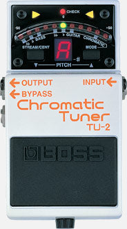 USED BOSS TU-2 Chromatic Tuner Pedal