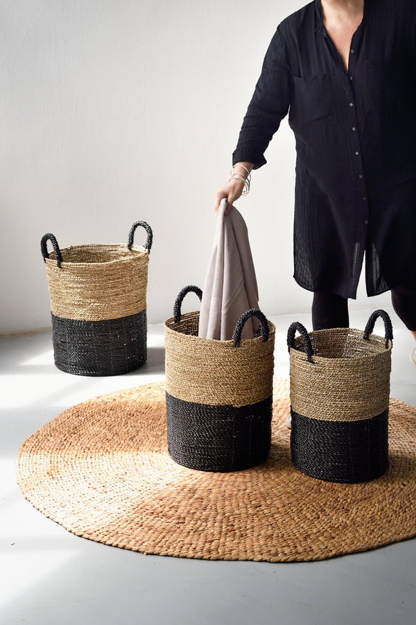 Byron Bay Basket - Black