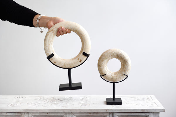 Marble Ring on Stand