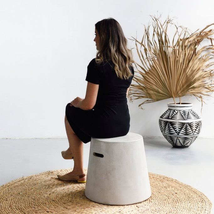Cement Stool - Furniture