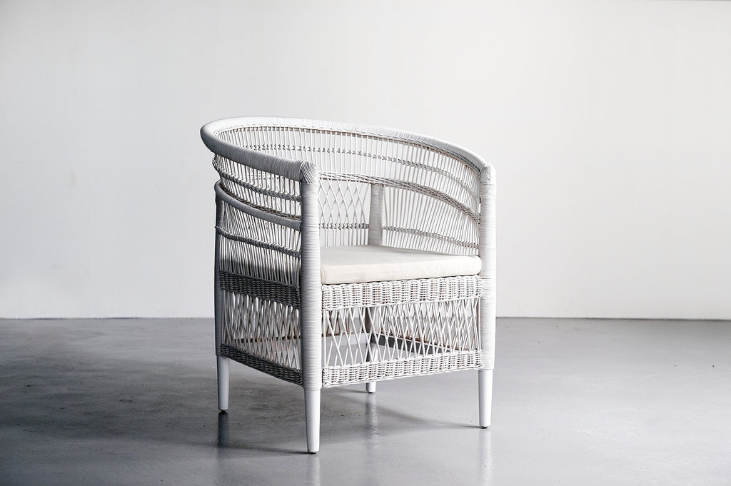 Malawi Arm Chair - White