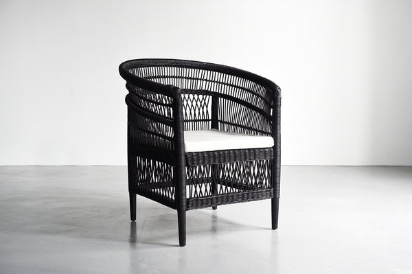 Malawi Arm Chair - Black