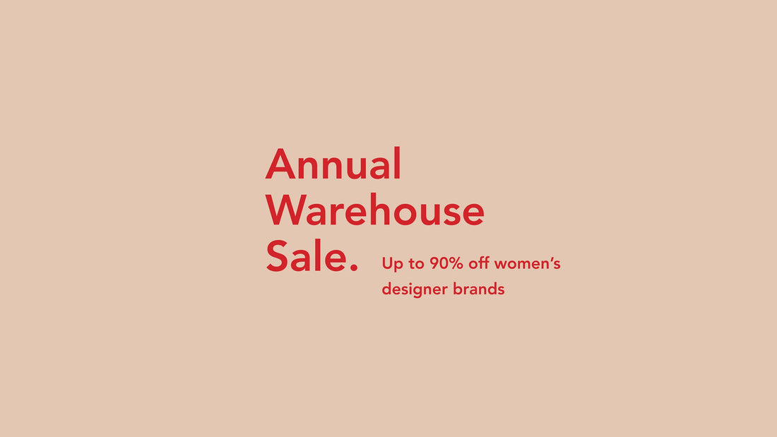 The Camargue Annual Warehouse Sale Returns
