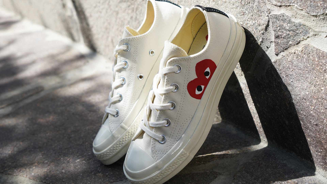 back in stock // Comme Des Garcons PLAY x Converse Sneakers