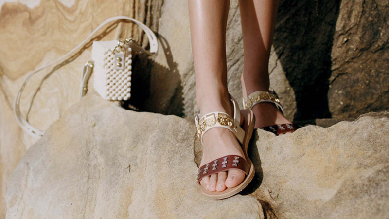 Lucy Folk x Ancient Greek Sandals