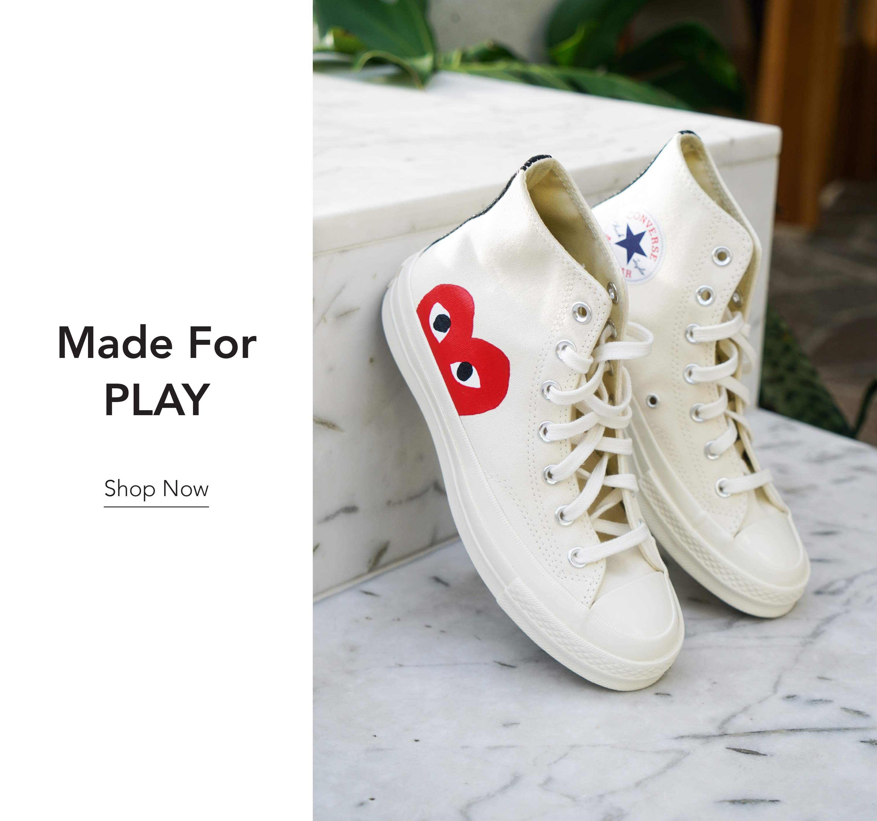Comme PLAY Sneakers