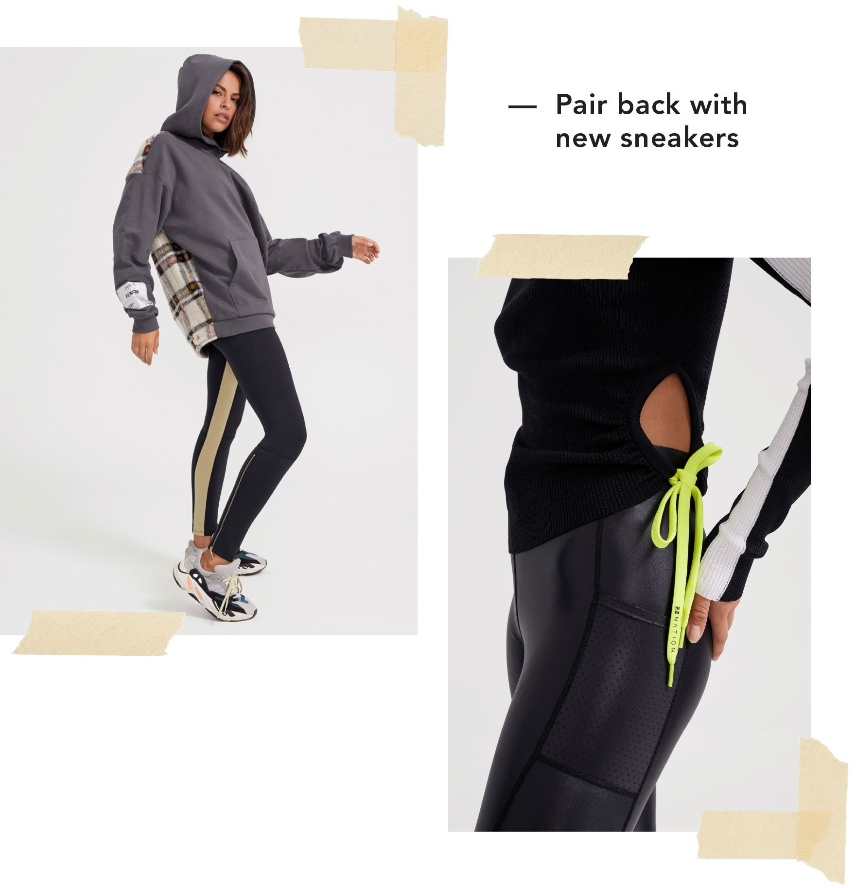 Designed for ALL Day, EVERY day and EVERY body, P.E NATION is Sydney-based activewear and Ready-to-Wear label
