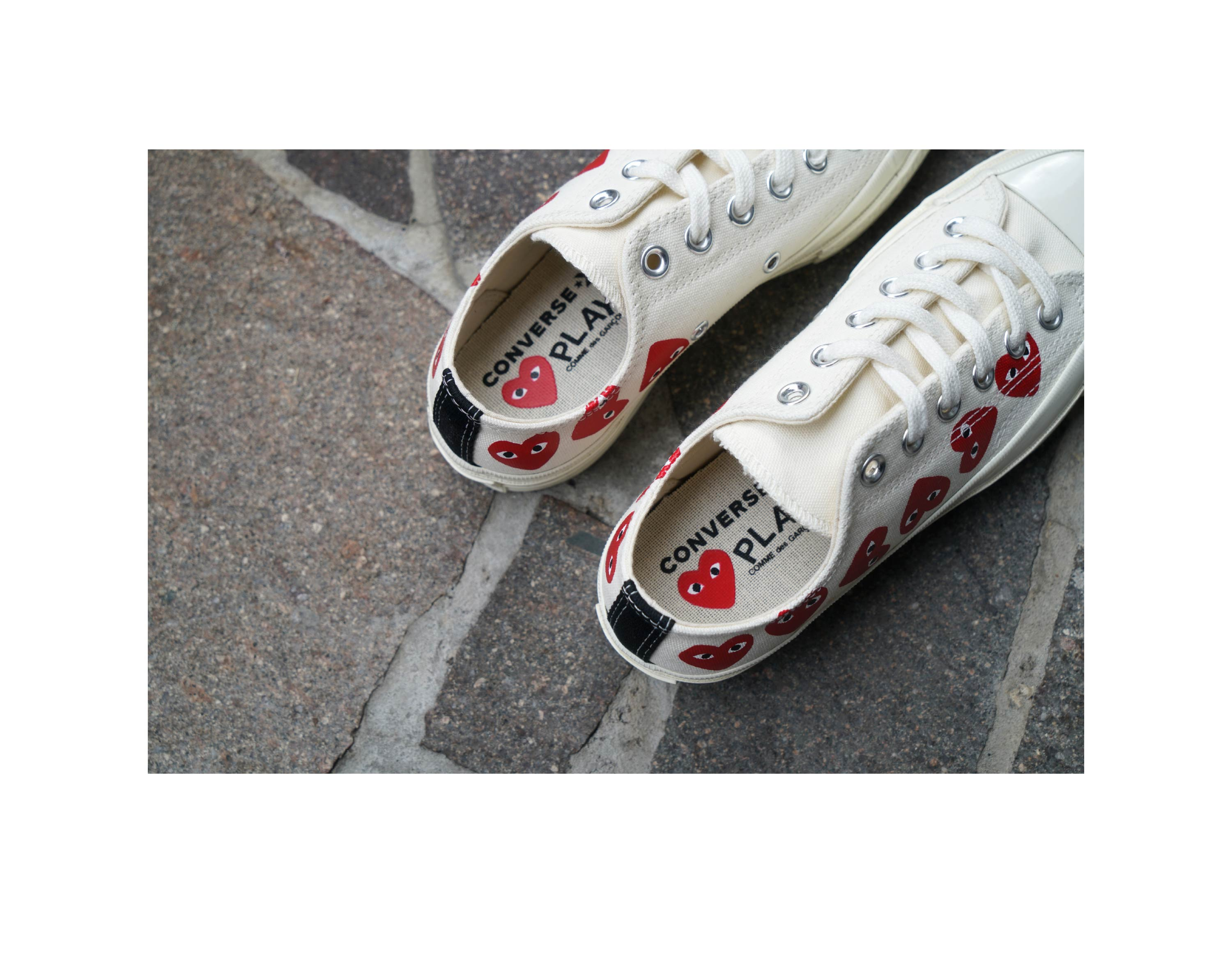 Comme PLAY x Converse Multi Heart Sneakers