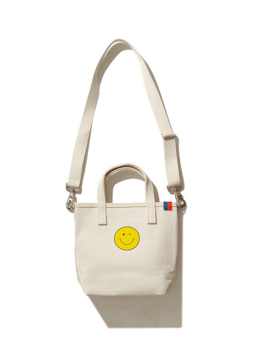 The Winky Face Bucket Bag