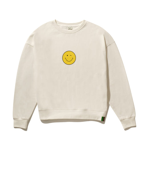 The Oversized Winky Face Sweatshirt