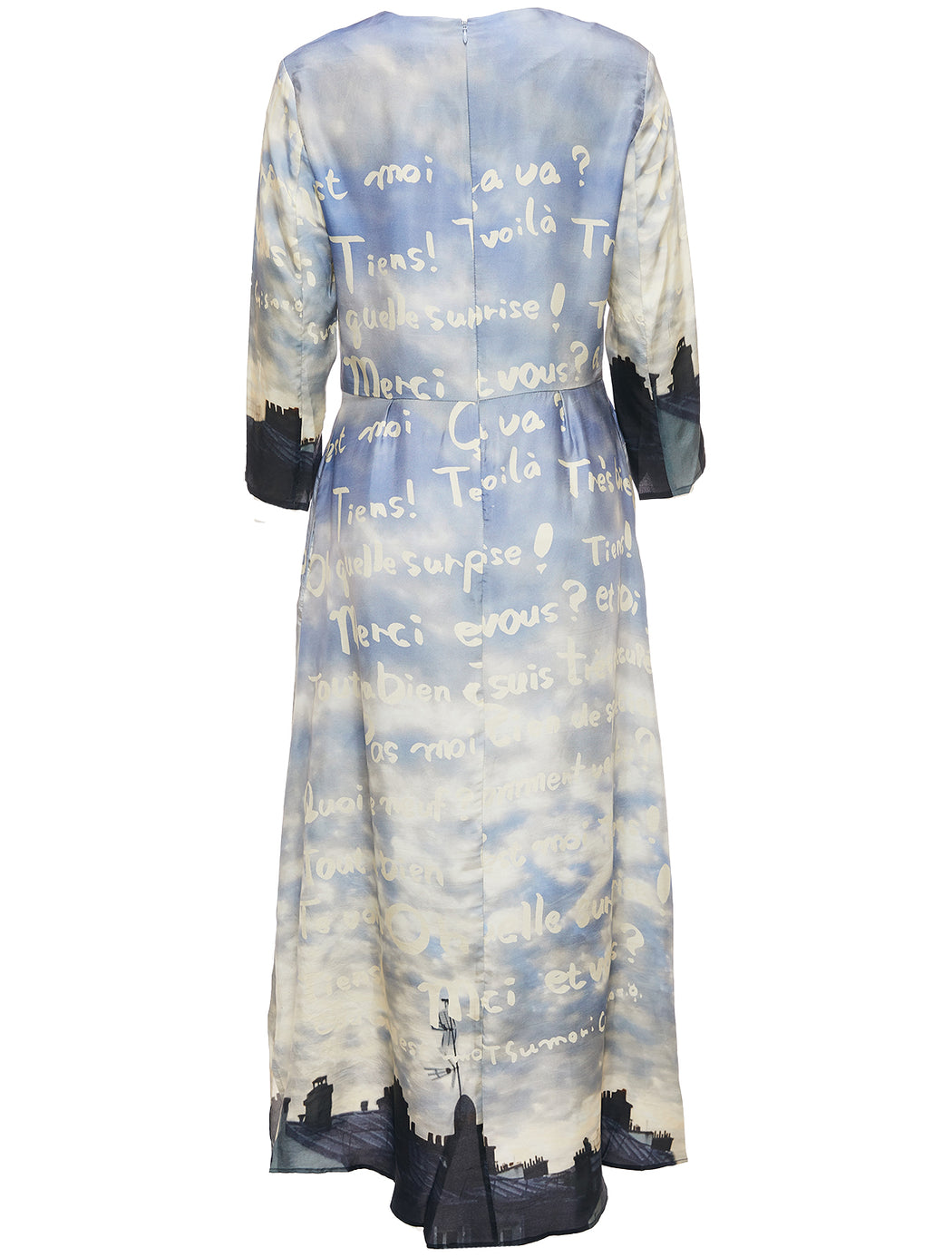 Skyline Printed Dress