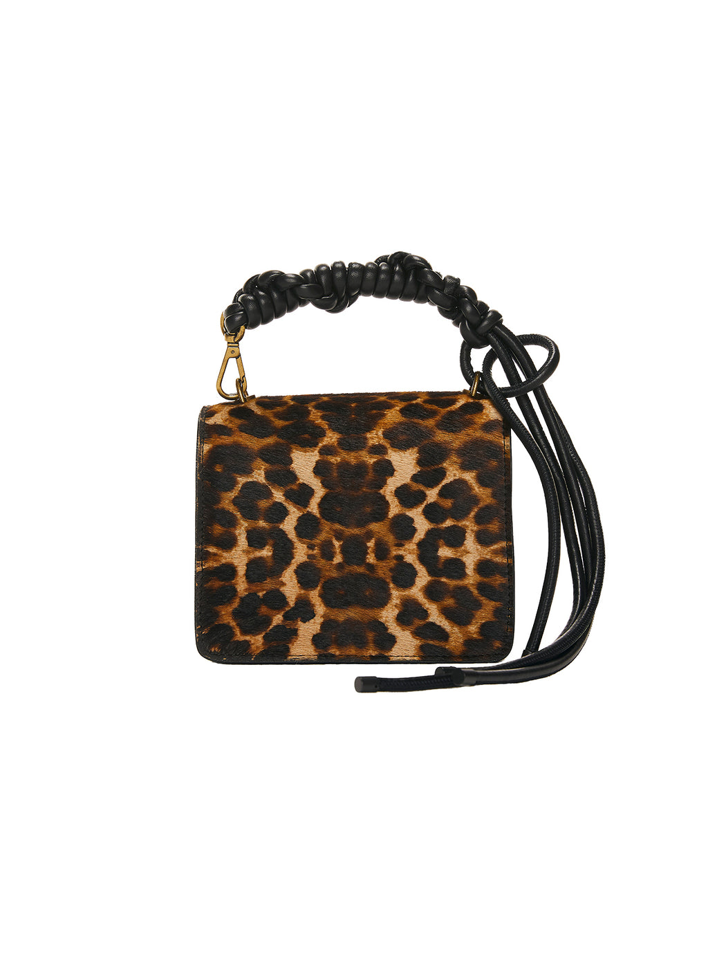 Pony Hair Animal Print Bag
