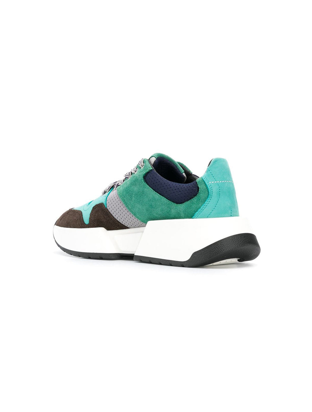 Colour Block Leather Sneaker