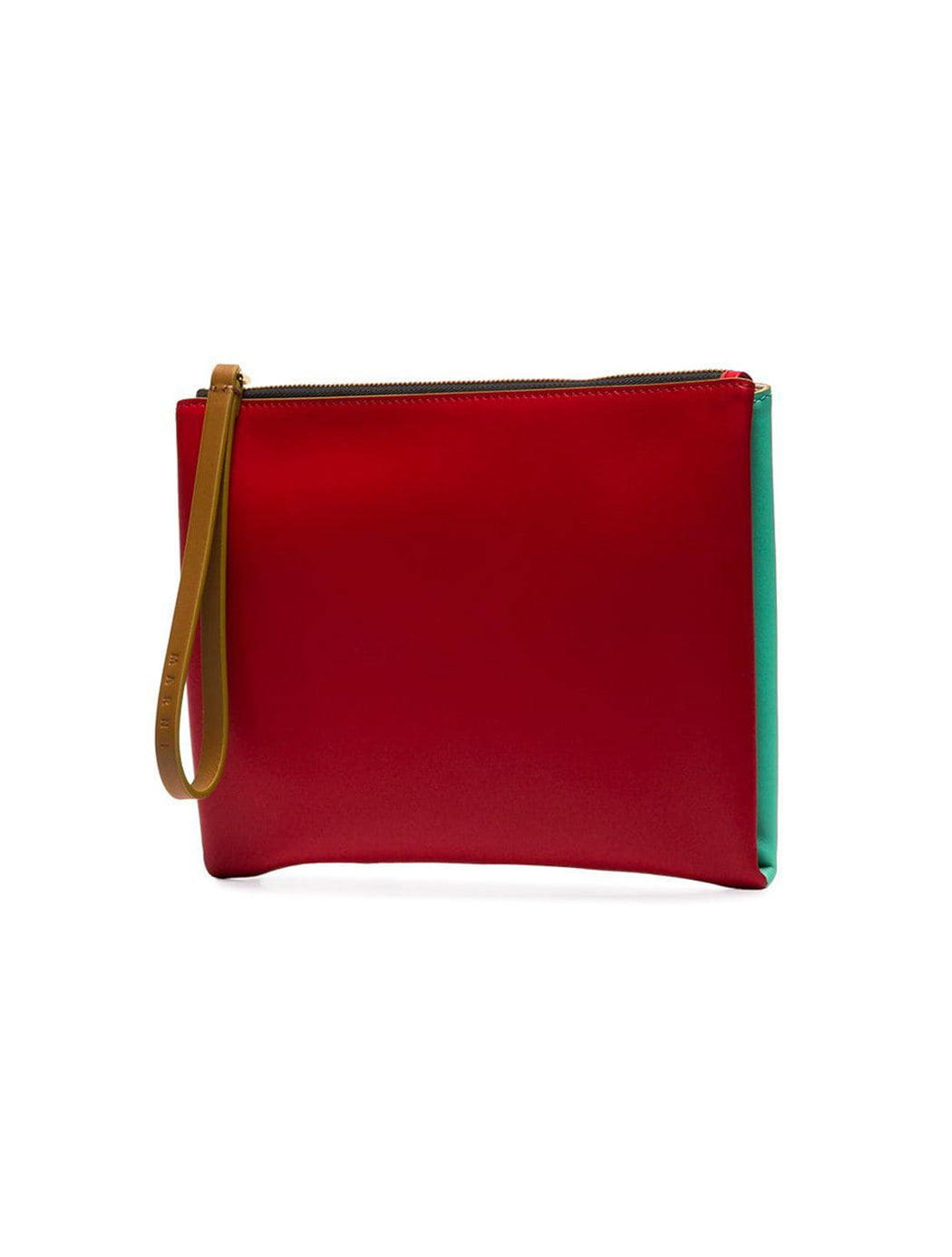 Leather Two Tone Pochette