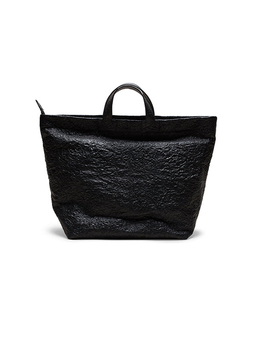 Zilla Wrinkled Leather Shopper