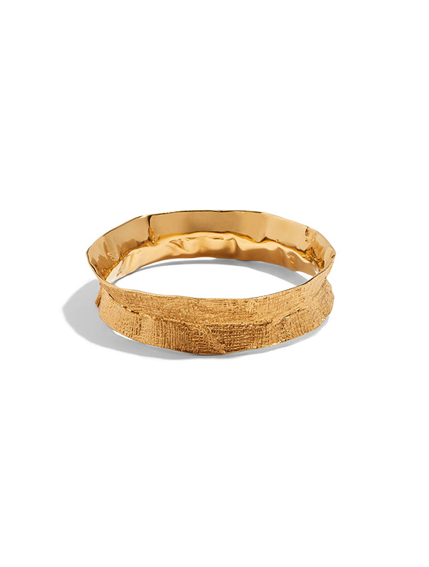Lucy Folk Molten Bangle