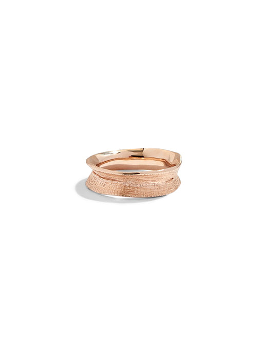 Lucy Folk Molten Ring - Small