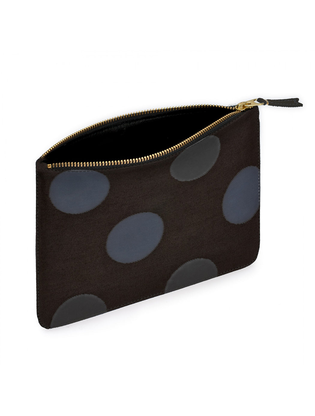 Large Zip Pouch / Rubber Dot