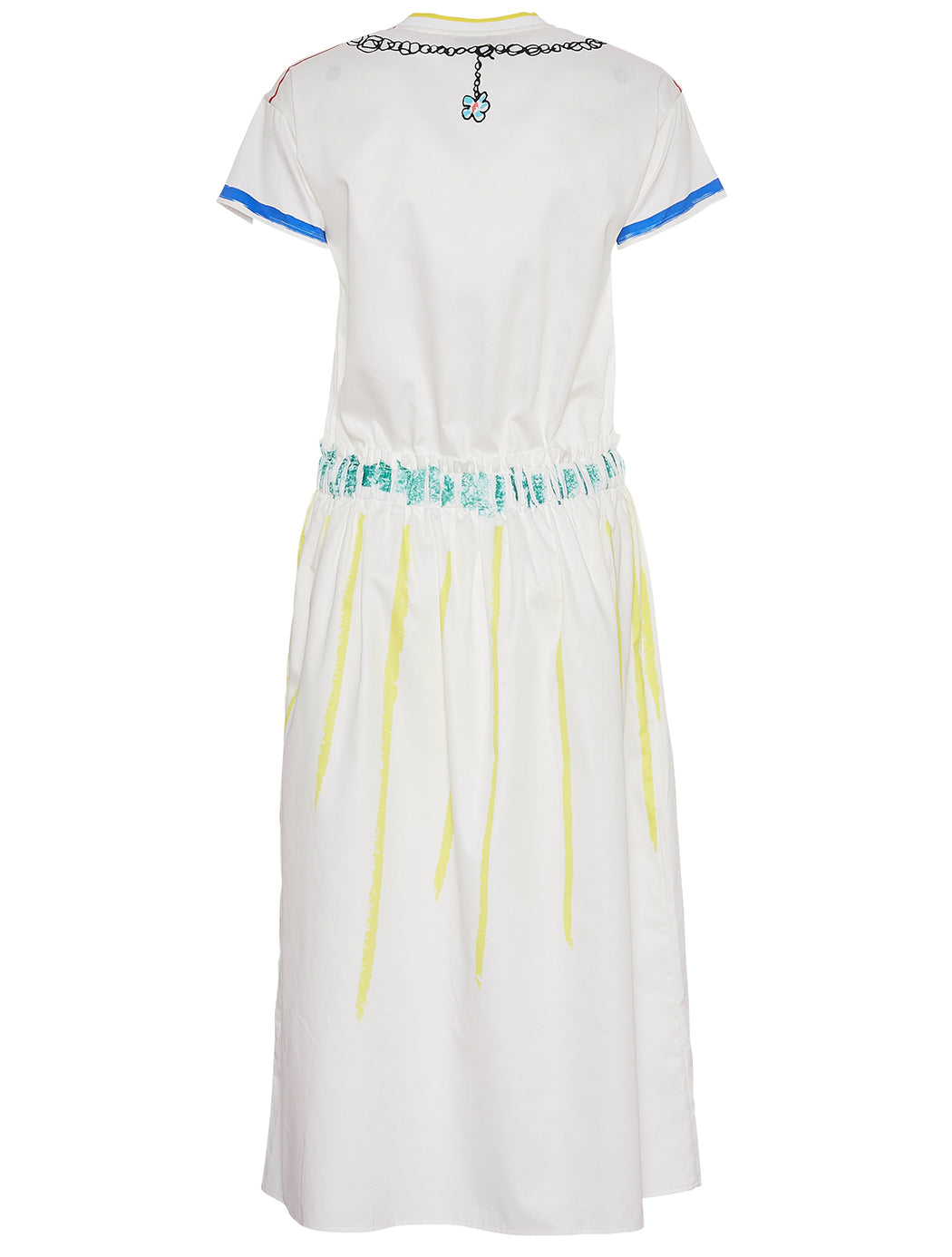 Trompe L'oeil Scribble Dress