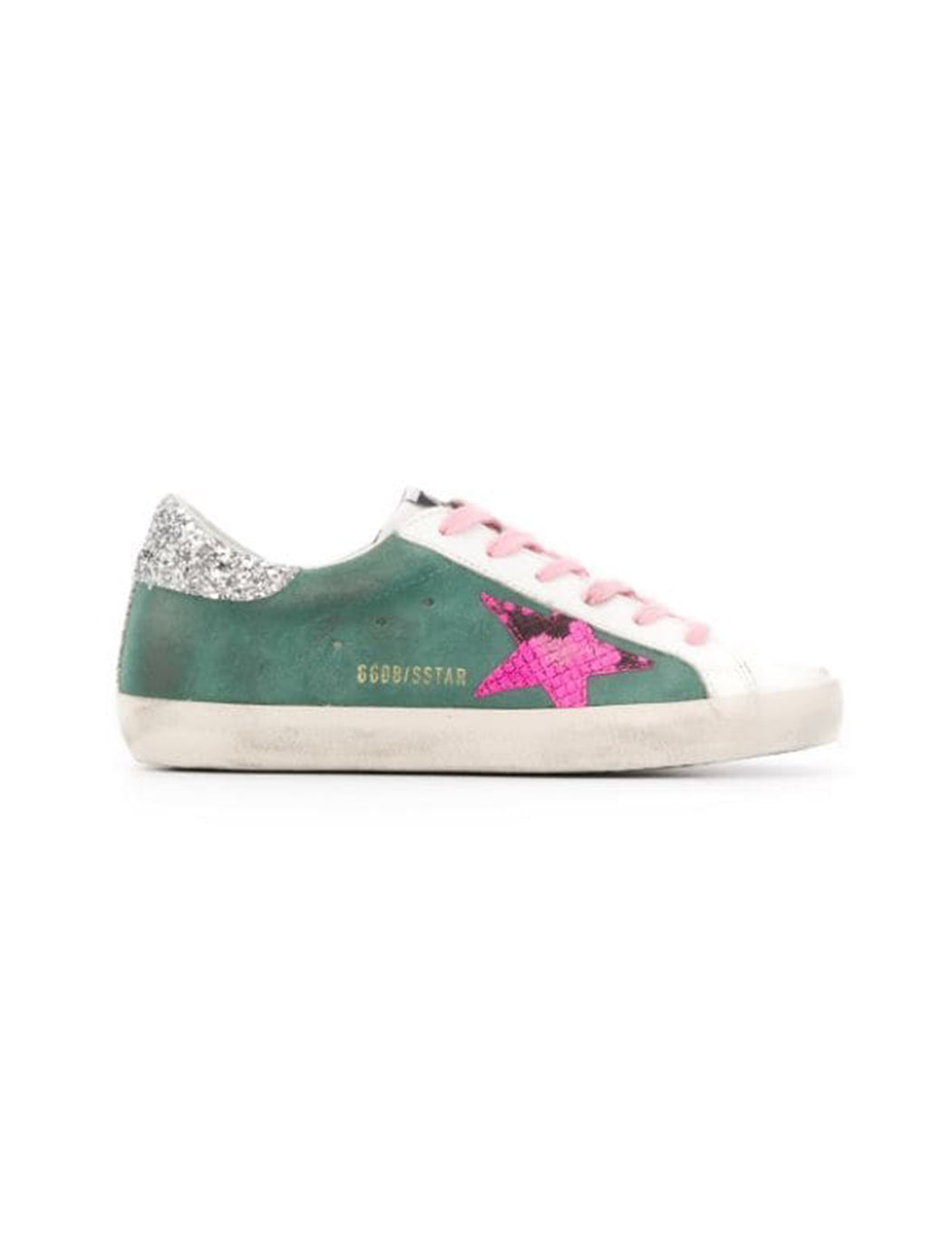 Pink Star Suede Superstar