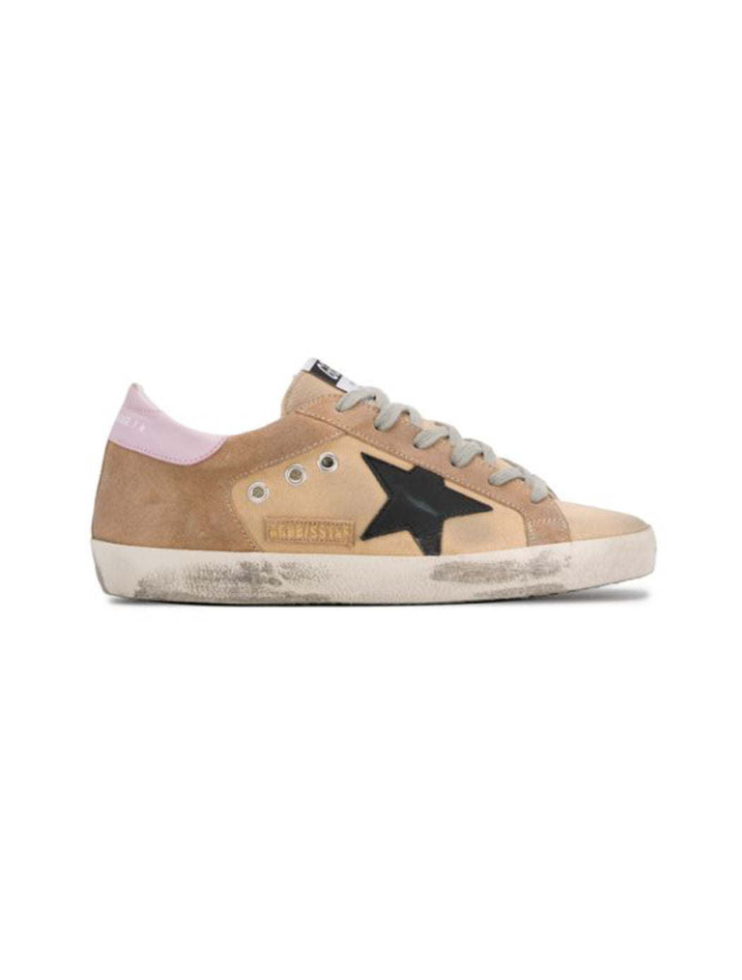 Black Star Suede Canvas Superstar