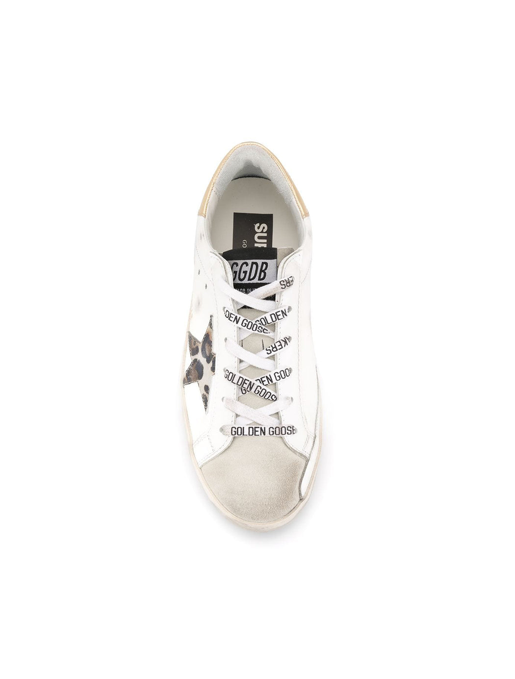Leopard Star Leather Superstar