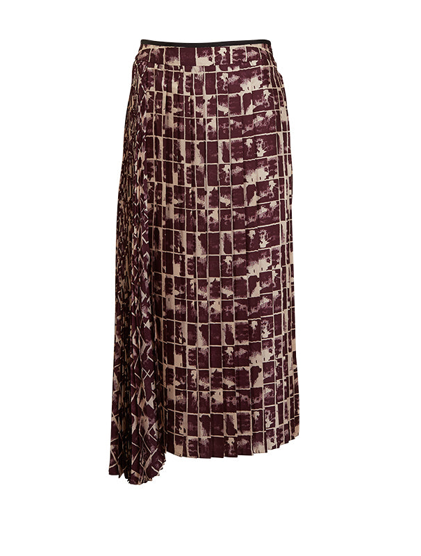 Cinema Double Pleat Skirt