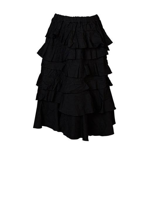 Comme Des Garcons Ruffle Layered Skirt
