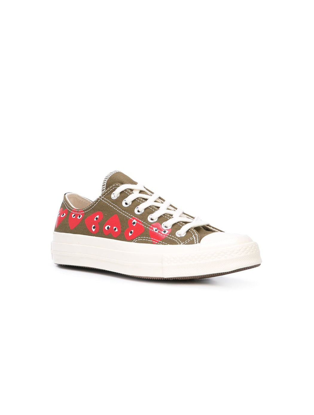 PLAY X Converse Multi Heart Low Top