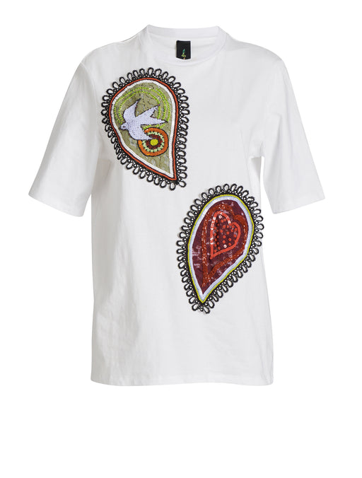 Paisley Patch T-Shirt