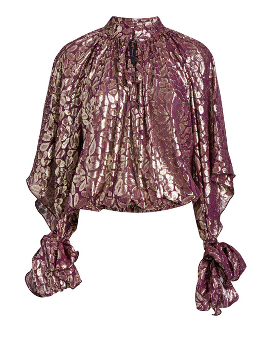 Disco Paisley Blouse